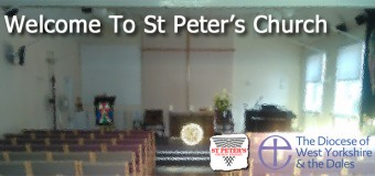 Welcome to St Peter's Church